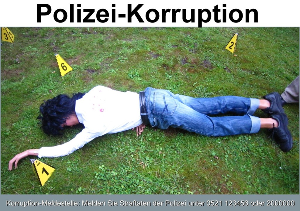 Polizei-Korruption